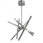 Ceiling Lamp DORA round 10xG4 12V H.Reg.xD.71cm Satin Nickel