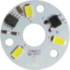 Módulo LED 3W RED. D.32mm 200lm 3000K 230V