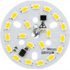 Módulo LED 10W REDD.56mm 570lm 3000K 230V cabo30cm
