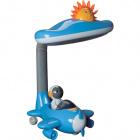 Table Lamp DIVERSÃO 1xPL-2U L.25xW.25xH.40cm Blue