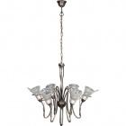 Ceiling Lamp MARSALA 6xE14 H.Reg.xD.68cm Metal+Glass Bronze