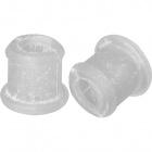 Transparent plastic bushing to ceramic bases 1xD.1,1cm