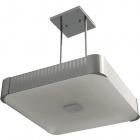 Ceiling Lamp LIZETE square 6xE27 L.54xW.54xH.Reg.cm Grey/Chrome