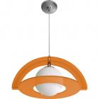 Pendant Light ÓRBITA 1xE27 L.50xW.42xH.Reg.cm Acrylic Orange