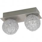 Wall Lamp PARM 2xG4 12V L.20xW.9xH.11cm Satin Nickel