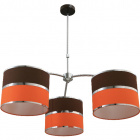 Ceiling Lamp OLGA 3xE27 H.Reg.xD.85cm Orange/Brown