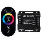 Controlador RGB 6Ax3ch 12/24V 216W/432W Preto