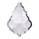 Crystal pendluque 6,3x4,3cm 1 hole transparent (Box)