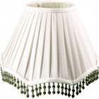 Lampshade NIGERIANO round & conic with beads with fitting E27 H.23xD.31cm Beije