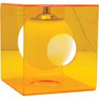 Table Lamp RITA 1xE14 L.19,5xW.22xH.22cm Orange
