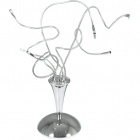 Table Lamp BENAHMED 5xG4 12V H.Reg.xD.40cm Chrome