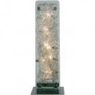 Table Lamp ESTELA rectangular 10xG4 12V L.20xW.20xH.56cm Chrome