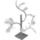 Table Lamp FOLHAS 9xG4 12V L.55xW.55xH.65cm Grey