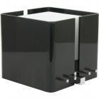 Table Lamp ROBERTA square 1xE27 L.20,5xW.20,5xH.18cm Acrylic Black