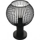 Table Lamp AGADIR small 1xE27 H.31,5xD.22cm Black