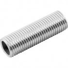 Tubo roscado 15mm M10x1 zincado