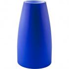Blue glass tulip for E14 lampholder 14,5D.8cm