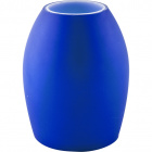 Blue glass tulip for E14 lampholder 9,5xD.7,5cm