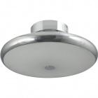 Plafond JANDIRA round 1xG10q T5 circ.+1x32WG10q (T5 circ.) H.15xD.48cm Chrome
