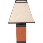 Table Lamp ADDISON 1xE27 L.28xW.28xH.50cm Brown