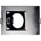 Downlight PROMETHEUS 1xGU10 L.12xW.9xH.0,2cm Satin Nickel