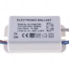 Balastro plástico 1x36W CE+EMC