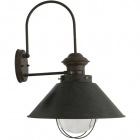 Wall Lamp BOLZANO large 1xE27 L.37xW.39xH.50cm Brown