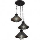 Ceiling Lamp BOLZANO 3xE27 H.Reg.xD.40cm Brown