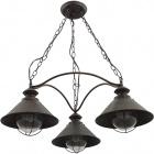 Ceiling Lamp BOLZANO 3xE27 H.Reg.xD.69cm Brown